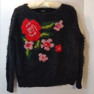 Jessica Simpson Floral Sweater